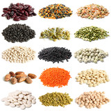Selection of various legumes
