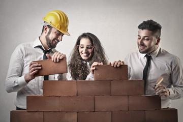 building friends