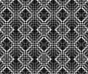 Seamless geometric abstract texture pattern design Vector