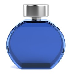 realistic 3d render of parfume