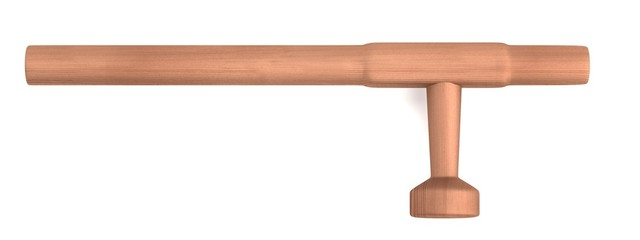 realistic 3d render of tonfa