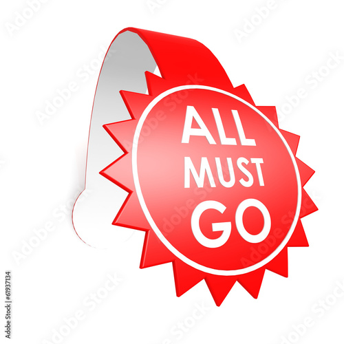 All must go star label