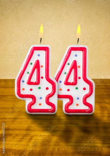 Поздравления прикольные с 44 летием
