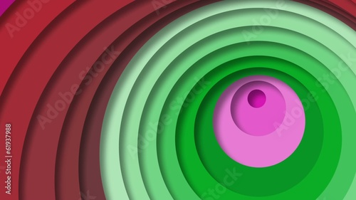 Dynamic circles background.