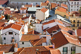 Alfama District orange rooftops, Lisbon