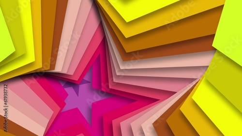 Star shaped background.