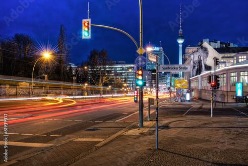 canvas print picture Berliner Verkehr