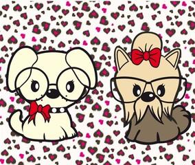 girl dogs