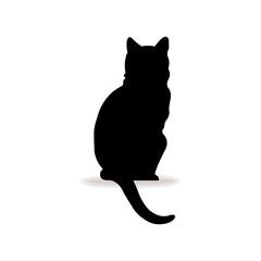 Form contour cat logo