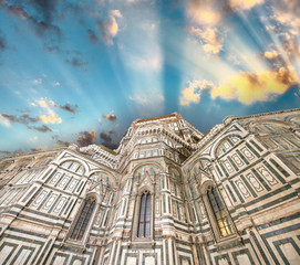 Florence. Beautiful renaissance cathedral Santa Maria del Fiore