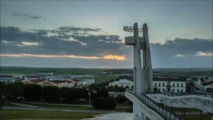 Timelapse puesta de sol en Jerez