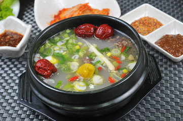 Korean vegetable soup