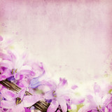 Seamless Flowers Watercolor Art