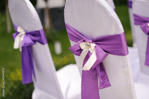 Decorated Chairs for Ceremony