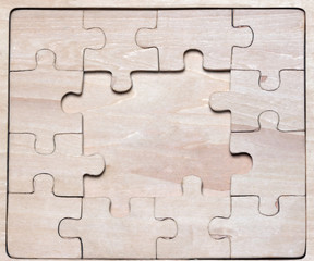 wooden puzzles.