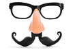 fake nose and glasses - 61943599