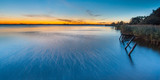 Blue Sunset over Lake Schildmeer, Netherlands