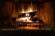 Leinwandbild Motiv Fireplace