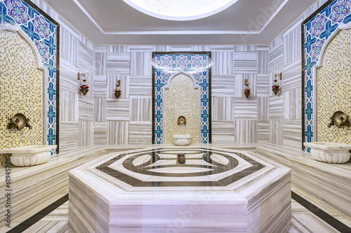 Turkish bath.Hamam