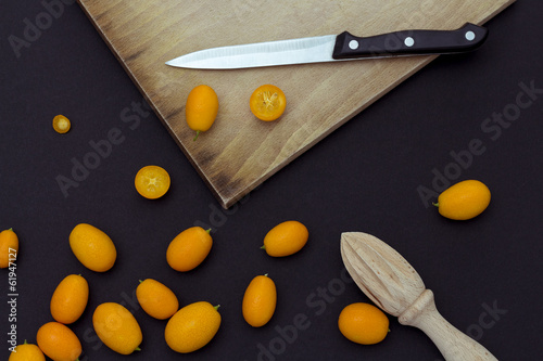 Kumquat background