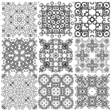 Set of seamless (tile, pattern) vintage design elements.
