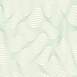 Seamless waved pattern