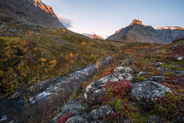 autumn in Lapland, Sweden