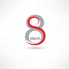 8 march icon