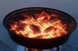 Hot grill pot.