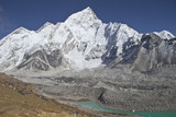 Beautiful mountain view of Everest Region,  Nepal
