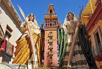 Fiesta religiosa del Corpus en Triana, Sevilla, España