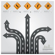 Road And Street Traffic Sign Business Infographic Design Templat - 61949331