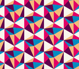Color geometric pattern