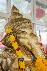 statue of the ganesha