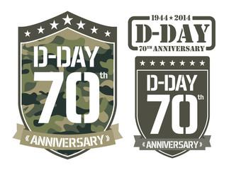 Escutcheon D-DAY Anniversary