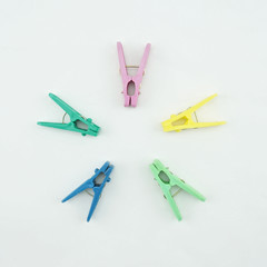 Clothes Pegs colorful