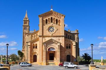 cathedral Ta Pinu,island Gozo,Malta