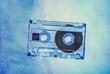 grunge cassette blue