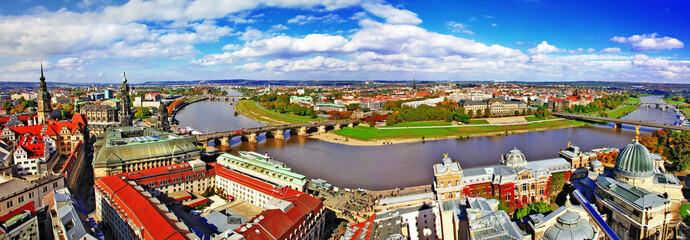 beautiful Dresden,Germany. panoramic view