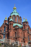 Uspensky Cathedral in Helsinki, Finnland, Europe