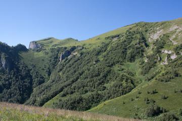 Mountain landscape (Caucasus, Adygei)