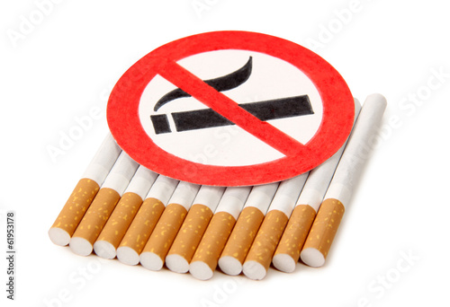 Sign of cigarette