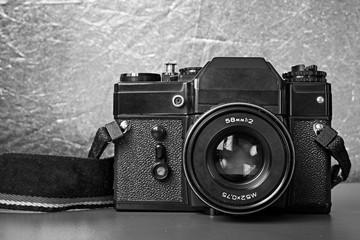 Old Soviet film camera