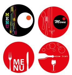 illustrazioni di menù