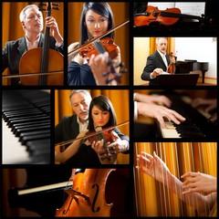 Music school collage