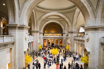 New York MET, Main hall