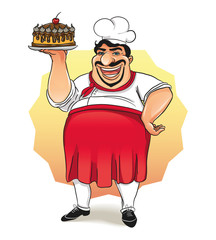 cook and cake