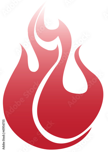 Red Hot Fire Icon