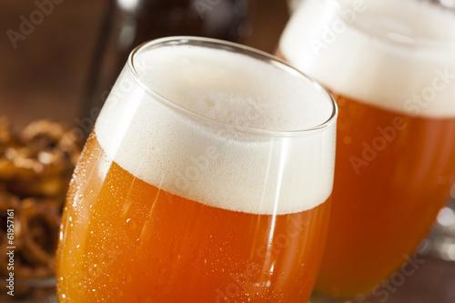 Refreshing Belgian Amber Ale Beer Poster