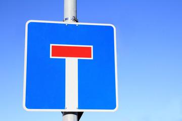 Straßenschild Sackgasse